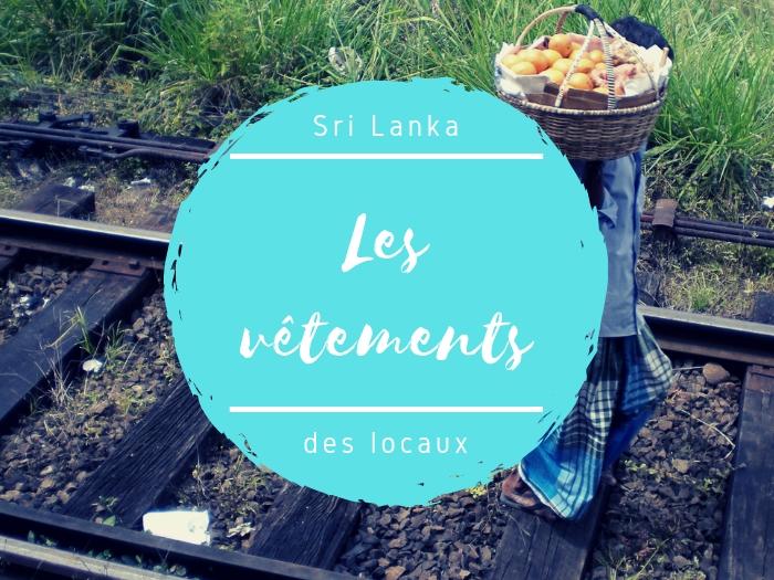 S'habiller à la sri lankaise