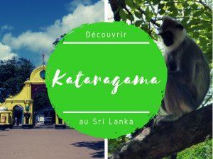 Kataragama et ses singes