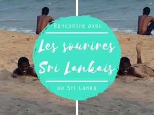 Les sourires sri lankais au Sri Lanka