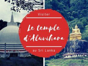Le Temple d'Aluvihara