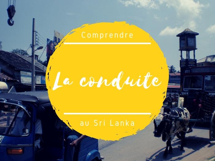 La conduite au Sri Lanka