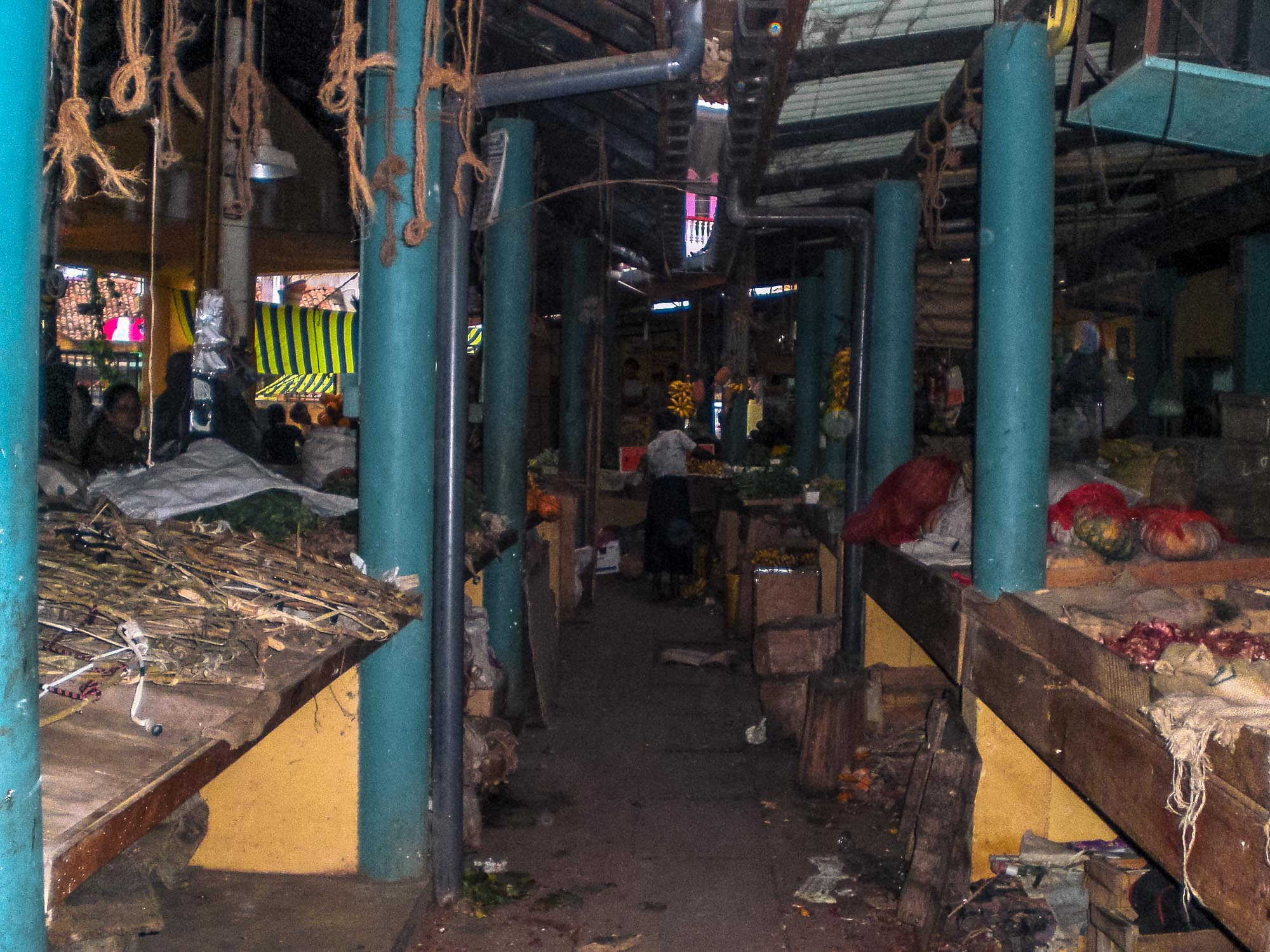 marché couvert Tangalle