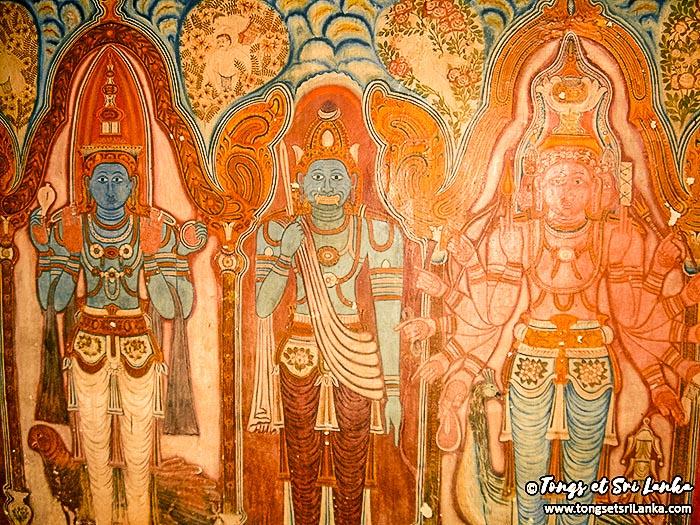 peintures grottes mulkirigala