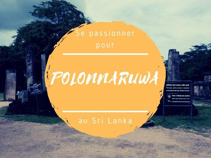 Site archeologique de Polonnaruwa