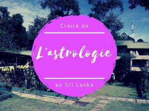 Astrologie et astres au Sri Lanka