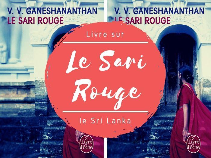 Livre Le Sari Rouge de V.V Ganeshananthan