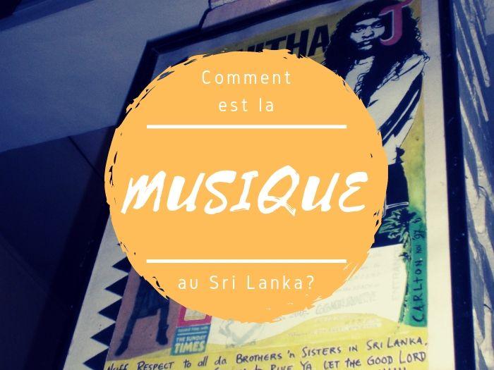 La musique au Sri Lanka