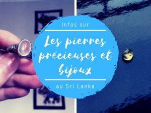 Les pierres précieuses et bijoux au Sri Lanka