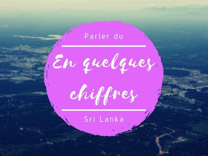 Quelques chiffres sur le Sri Lanka