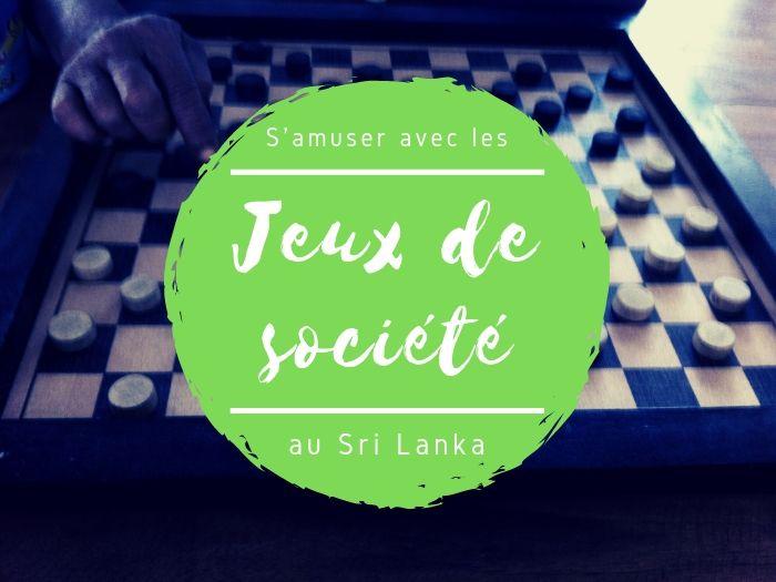 Dames et Carom au Sri Lanka
