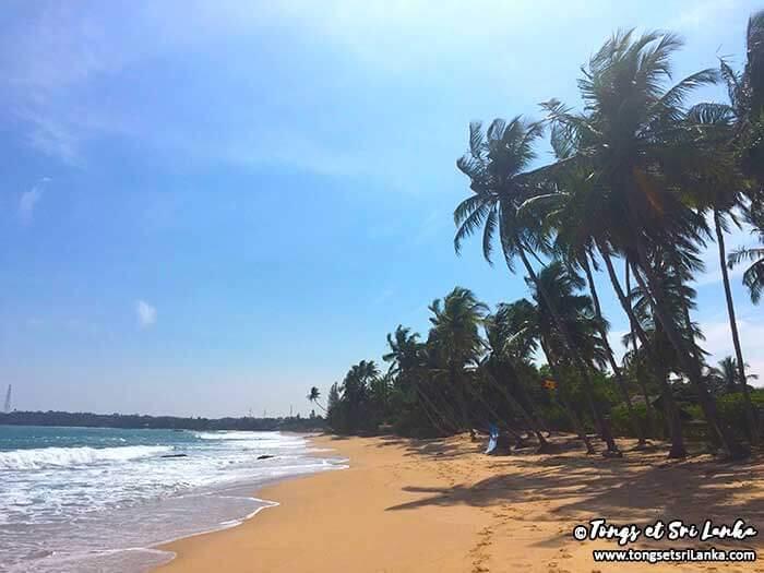 Madilla beach à Tangalle au Sri Lanka