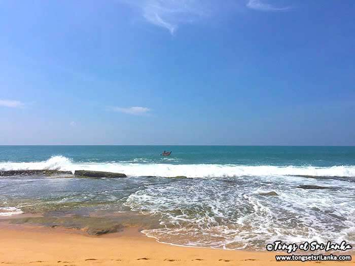 Piscines naturelles à Madille Tangalle au Sri Lanka