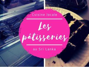 Pâtisserie au Sri Lanka