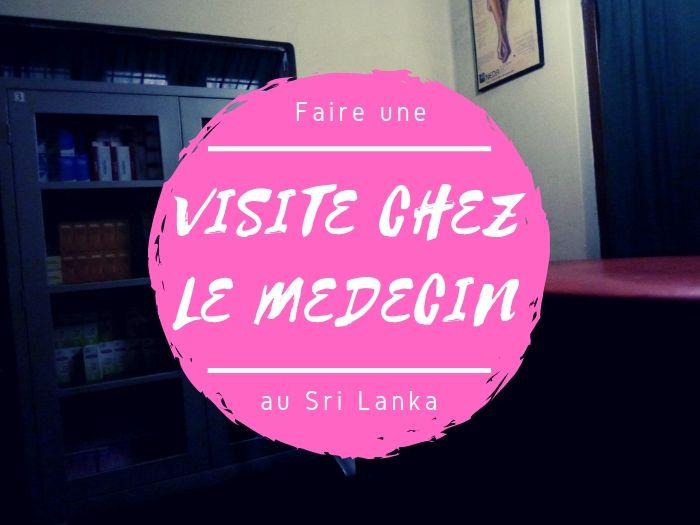 Visite chez le docteur au Sri Lanka