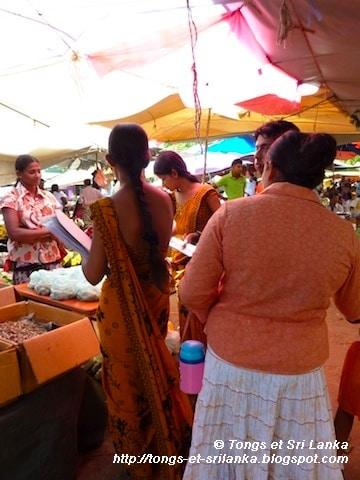 marché de Tangalle