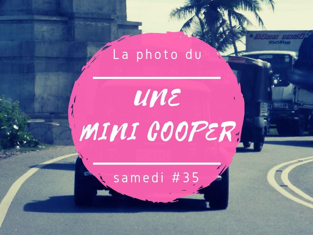 La photo du samedi Mini Cooper au Sri Lanka