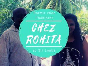 Dormir chez l'habitant chez Rohita au Sri Lanka