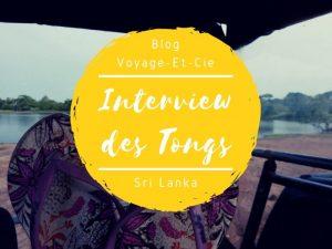 Interview des Tongs sur le blog Voyage Et Cie