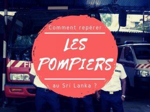 Les pompiers au Sri Lanka