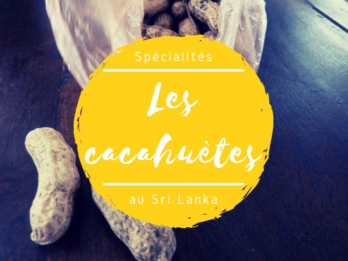 Les cacahuètes au Sri Lanka
