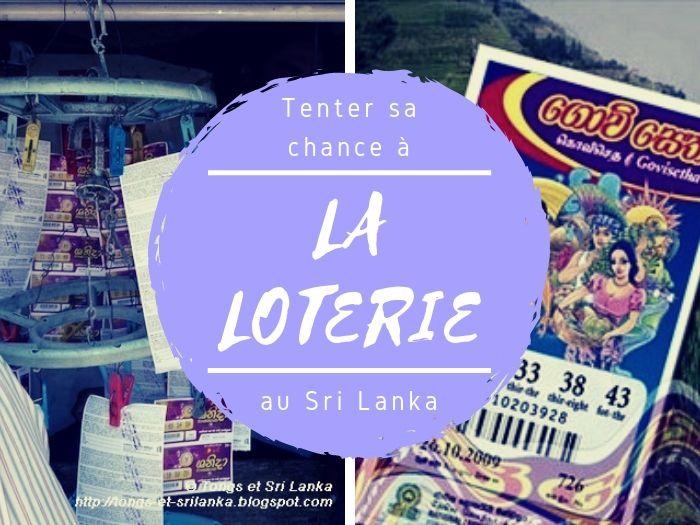 La loterie au Sri Lanka