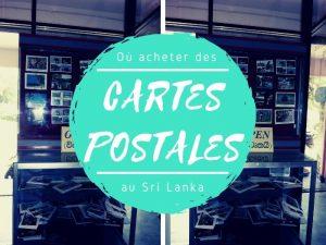Acheter les cartes postales au Sri Lanka