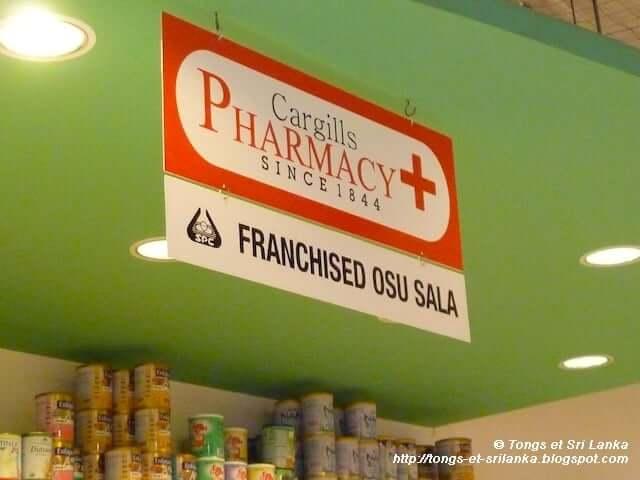 Petits bobos et pharmacie au Sri Lanka!