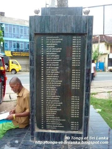 Un samedi, une photo sri lankaise #53