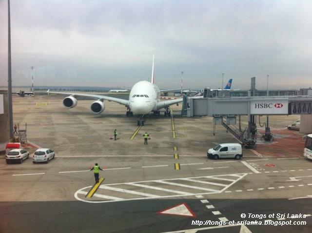 Avion pour le Sri Lanka
