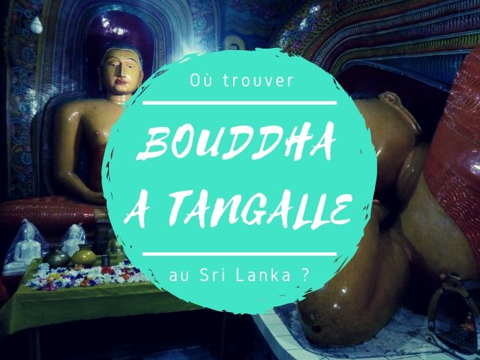 Bouddha à Tangalle au Sri Lanka