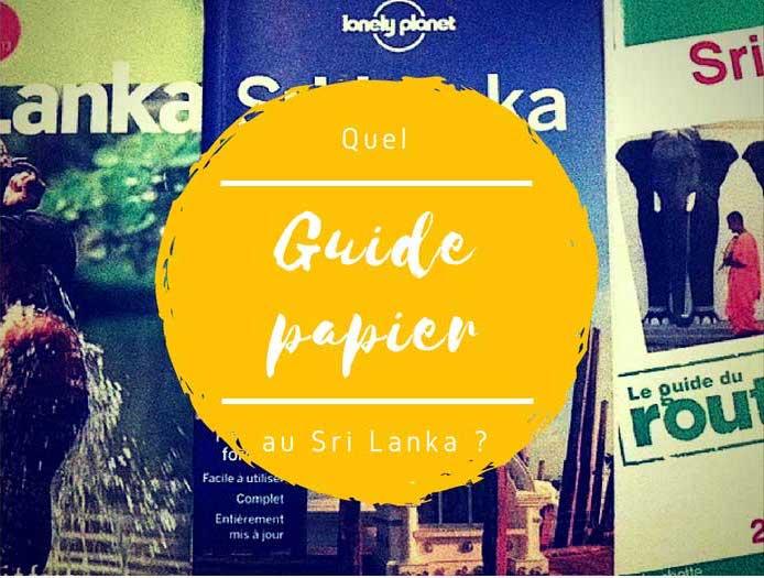 Guide papier pour le Sri Lanka