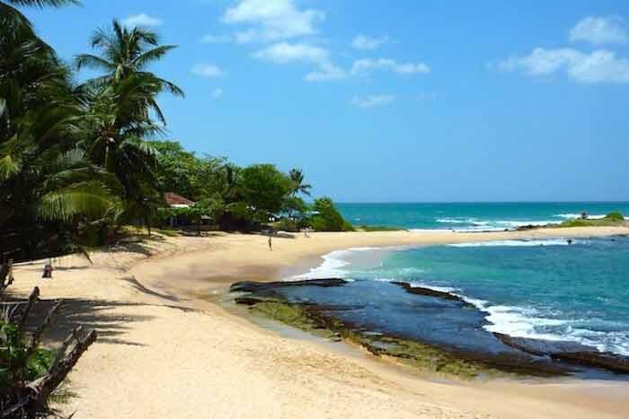 plage de matara road à tangalle