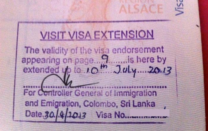 Sri Lanka : comment prolonger son ETA en visa de 3 ou 6 mois ?