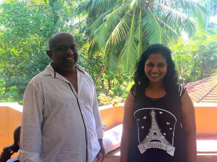 Dormir chez l'habitant au Sri Lanka : bienvenue chez Rohitha à Tangalle!