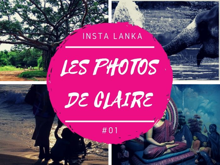 Insta Lanka les photos de Claire au Sri Lanka