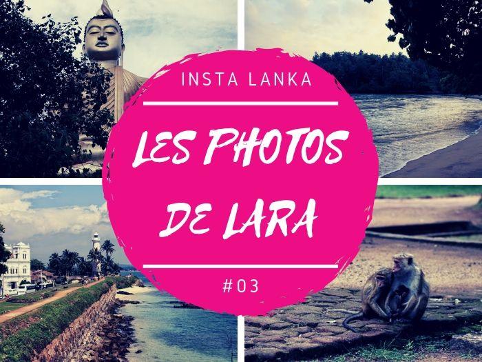 Insta Lanka les photos de Lara au Sri Lanka