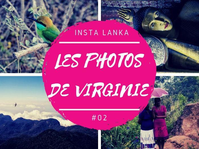 Insta Lanka les photos de Virginie au Sri Lanka
