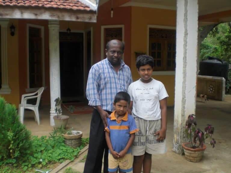 Recevoir une invitation dans une maison sri lankaise