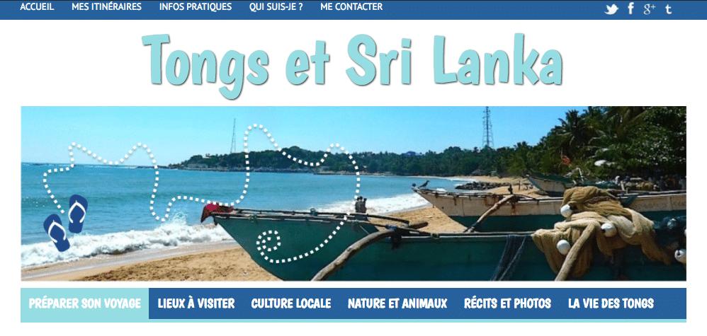 Retour du blog Tongs et Sri Lanka