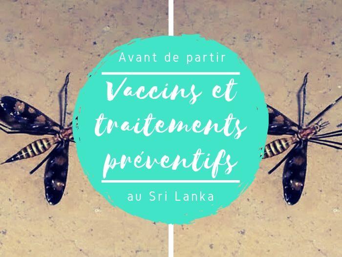 Vaccins et traitements préventifs pour le Sri Lanka