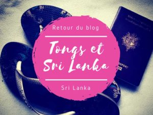 Retour du blog Tongs et Sri Lanka