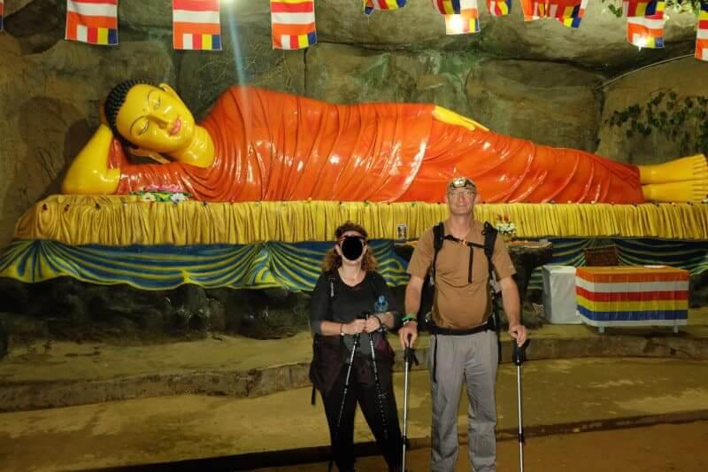 Bouddha Adam's peak au Sri Lanka