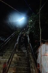 Marches de l'Adam's peak au Sri Lanka