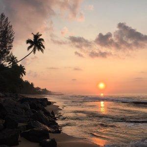 Dernier lever de soleil depuis Tangalle pour ce voyage nofilterhellip