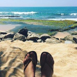 Les Tongs au Sri Lanka il fallait bien justifier lehellip