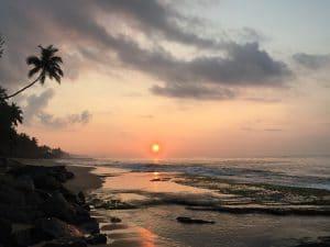 Lever de soleil au Sri Lanka en 2017