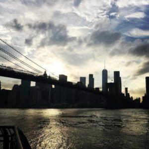 Coucher de soleil sur Manhattan depuis Brooklyn Manhattan sunset fromhellip