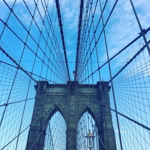 Promenade de lundi sur le pont de Brooklyn Last Mondayhellip