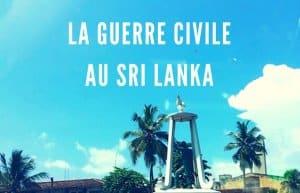 guerre civile au sri lanka