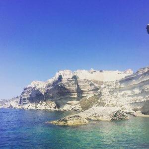 Souvenir de Bonifacio depuis la grande bleue La Corse mehellip